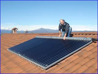 Pellegrino termoidraulica a s biagio di centallo cuneo for Immagini pannello solare